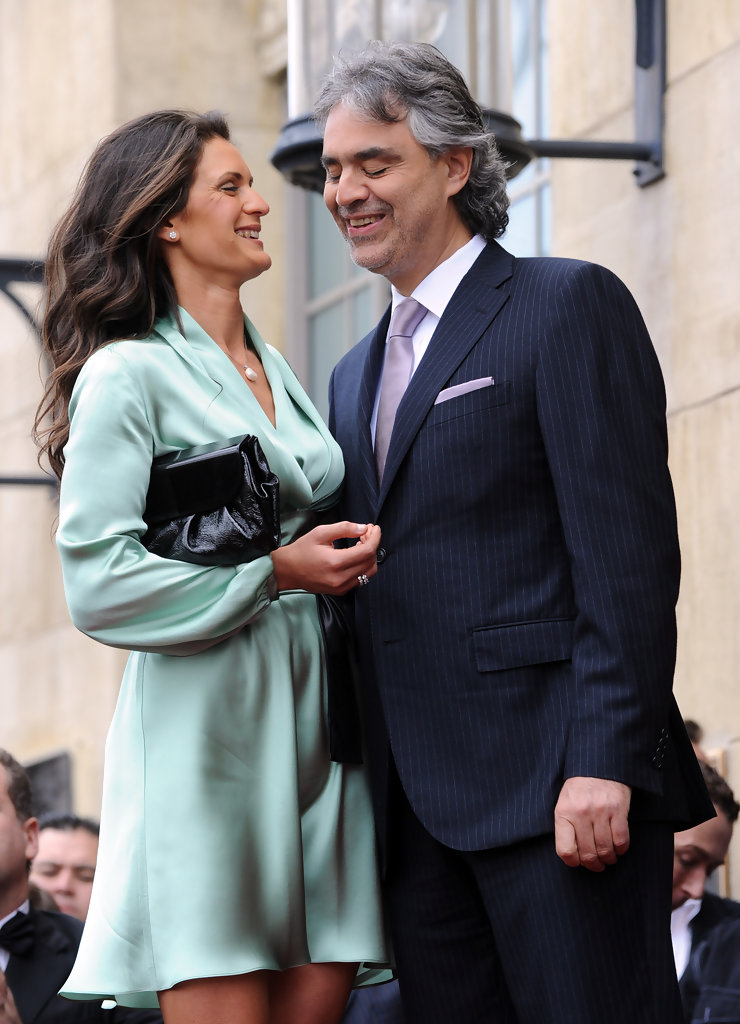 Andrea Bocelli And Veronica Berti Photos Photos Andrea