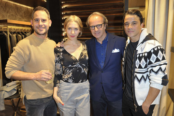 Andrea Della Valle HOGAN Flagship Boutique Opening in Munich