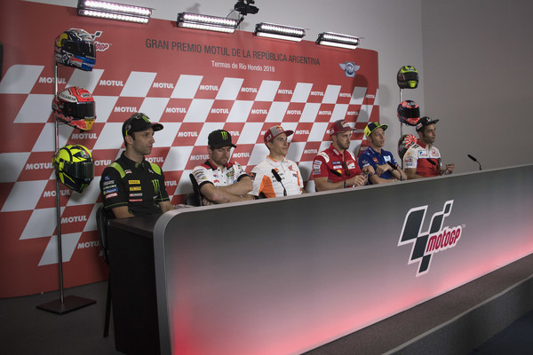 MotoGp of Argentina - Previews [previews,vehicle,games,johann zarco,cal crutchlow,motogp,l-r,argentina,italy,france,monster yamaha tech 3,lcr honda]