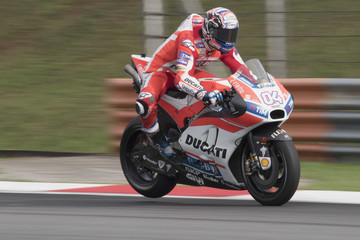 Andrea Dovizioso MotoGP Tests In Sepang