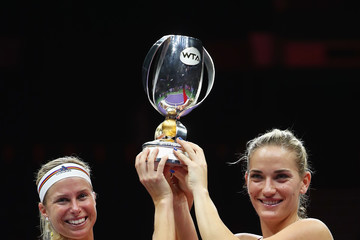 Andrea Hlavackova BNP Paribas WTA Finals Singapore Presented by SC Global - Day 8