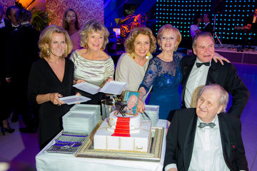 Andrea L´Arronge Karl Spiehs Celebrates His 85th Birthday in Vienna