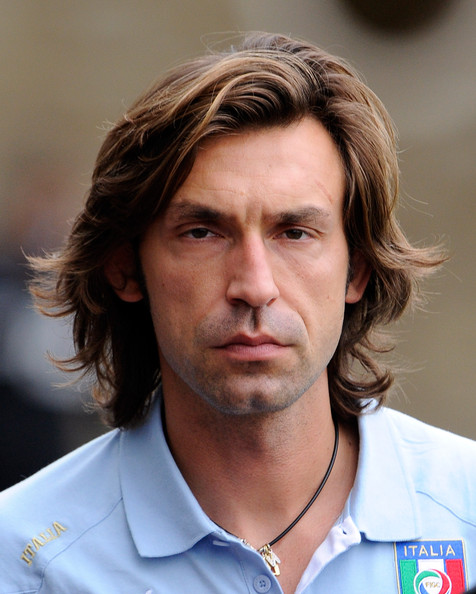 Andrea Pirlo Pictures Italy Training Session And Press