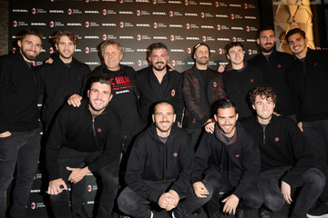 Andrea Rosso DIESEL X A.C. MILAN SPECIAL COLLECTION