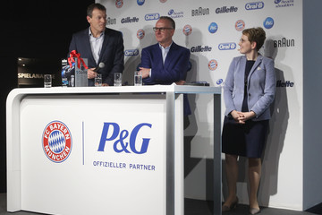 Andreas Jung Bayern Muenchen Unveils New Sponsoring Partner