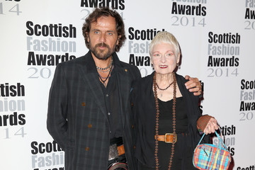 Andreas Kronthaler Arrivals at the Scottish Fashion Awards