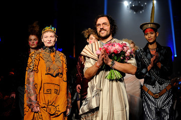 Andreas Kronthaler Vivienne Westwood : Runway - Paris Fashion Week Womenswear Fall/Winter 2014-2015