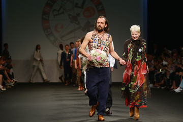 Andreas Kronthaler Models Walk for Vivienne Westwood at Milan Collections Men SS16