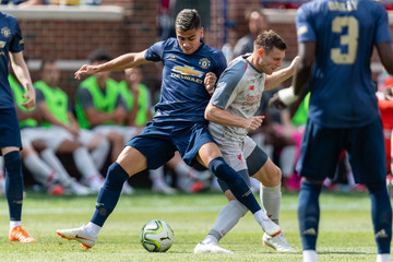 Andreas Pereira Manchester United vs. Liverpool - International Champions Cup 2018