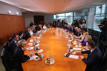 Andreas Scheuer First Cabinet Meeting Of Merkel IV Government