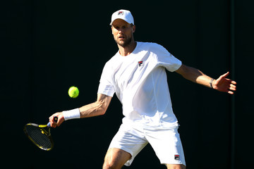 Andreas Seppi Day One: The Championships - Wimbledon 2018