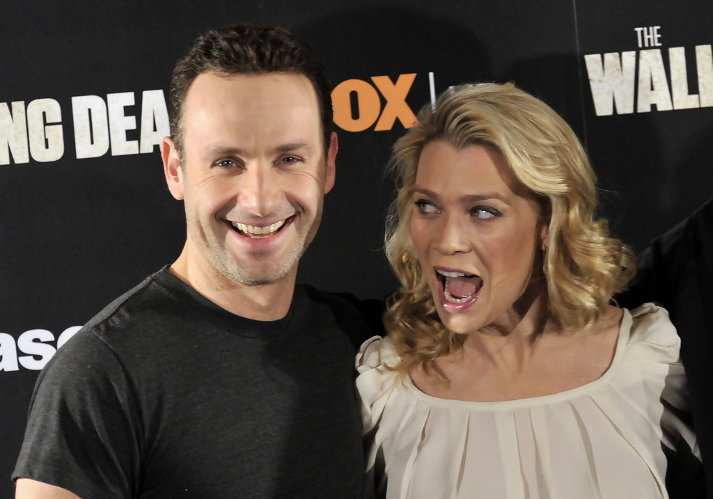 Laurie holden andrew lincoln
