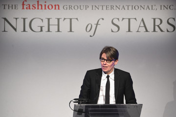 Andrew Bolton 2016 Fashion Group International Night Of Stars Gala - Inside
