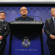 Andrew Colvin Police Commissioner Holds Press Conference