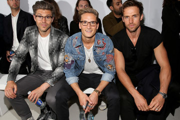 Andrew Cooper Arrivals & Front Row - Day 3 - London Collections Men SS17