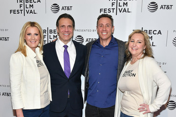 Andrew Cuomo Sandra Lee 'RX: Early Detection A Cancer Journey With Sandra Lee' - 2018 Tribeca Film Festival
