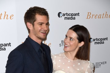 Andrew Garfield Claire Foy 'Breathe' New York Special Screening