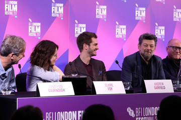 Andrew Garfield Claire Foy 'Breathe' Press Conference - 61st BFI London Film Festival