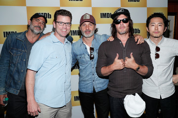 Andrew Lincoln Steven Yeun The IMDb Yacht at San Diego Comic-Con 2016: Day Three