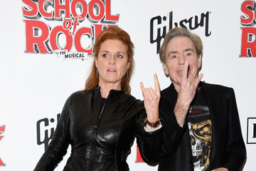Andrew Lloyd-Webber Opening Night Of 'School Of Rock The Musical' - Red Carpet Arrivals
