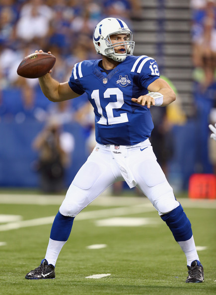 Andrew Luck Pictures - Oakland Raiders v Indianapolis ...
