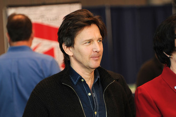 Andrew McCarthy The 10th Annual New York Times Travel Show Ribbon Cutting And Preview