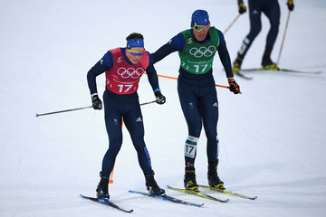 Andrew Musgrave Cross-Country Skiing - Winter Olympics Day 12