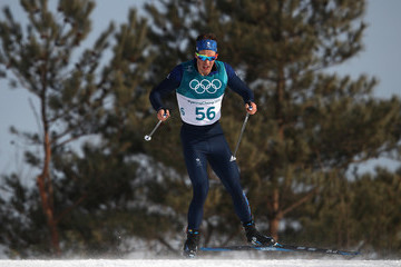 Andrew Musgrave Cross-Country Skiing - Winter Olympics Day 7