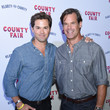 Andrew Rannells Seth Rogen And Lauren Miller Rogen Host Hilarity For Charity's County Fair