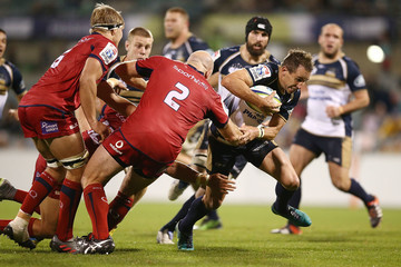Andrew Smith Super Rugby Rd 7 - Brumbies v Reds