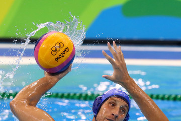 Andrija Prlainovic Water Polo - Olympics: Day 15