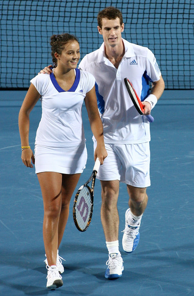andy murray. Laura Robson and Andy Murray