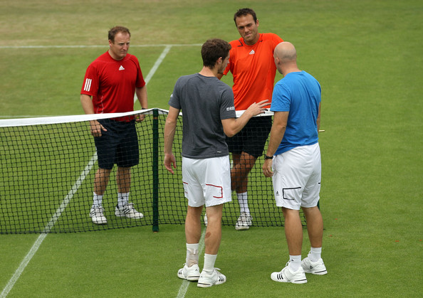 andy murray wimbledon 2010. Andy Murray and Ross Hutchins
