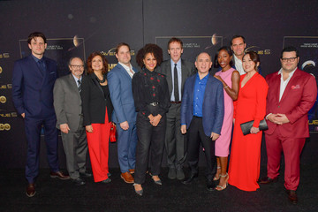 """Andy Buckley Rebecca Front Premiere Of HBO's """"Avenue 5"""" - Red Carpet"""