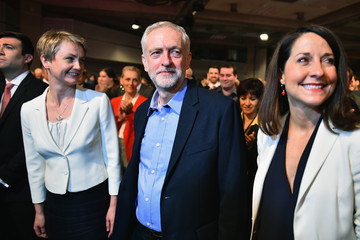 Andy Burnham Jeremy Corbyn The Labour Party Announce Their New Leader and Deputy Leader