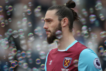 Andy Carroll West Ham United v Leicester City - Premier League