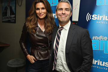 Andy Cohen Cindy Crawford Appears on 'SiriusXM Leading Ladies' Series Hosted by SiriusXM Host Jenny Hutt