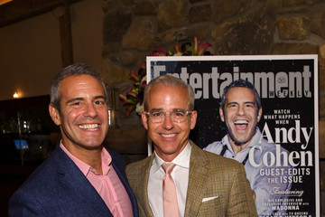 Andy Cohen Entertainment Weekly Celebrates Guest Editor Andy Cohen
