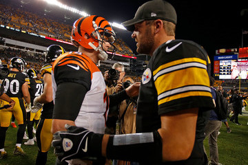 Andy Dalton Cincinnati Bengals v Pittsburgh Steelers