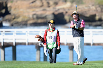 Andy Garcia AT&T Pebble Beach National Pro-Am - Round Three