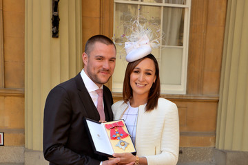 Andy Hill Investitures at Buckingham Palace