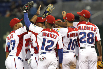 Andy Ibanez Chinese Taipei v Cuba - World Baseball Classic Second Round Pool 1