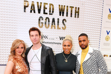Andy Karl Orfeh IMG NYFW: The Shows 2020 Partners - February 8