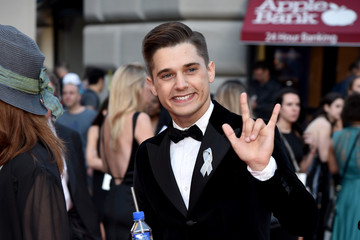 Andy Mientus FIJI Water At 2016 Tony Awards
