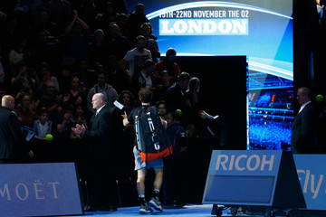 Andy Murray Barclays ATP World Tour Finals - Day Six