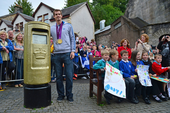 Andy Murray - Andy Murray Returns To Dunblane