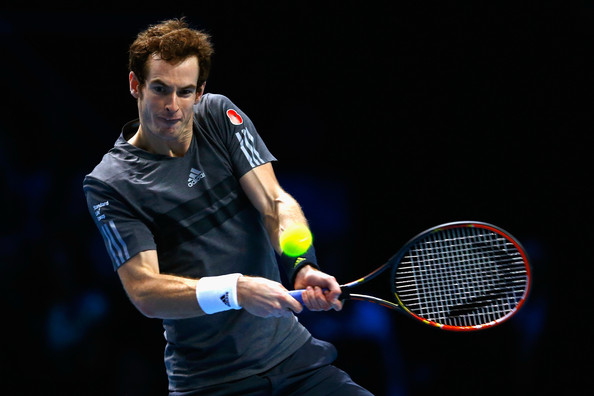 Andy Murray - Barclays ATP World Tour Finals: Day 3