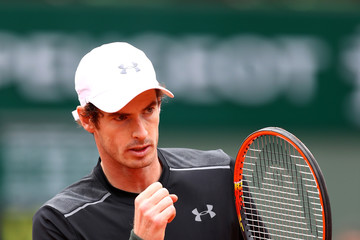 Andy Murray 2016 French Open - Day Three