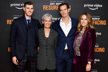 Andy Murray Kim Sears 'Andy Murray: Resurfacing' World Premiere - Red Carpet Arrivals
