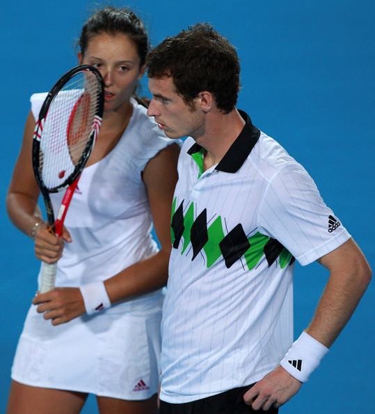 Andy Murray and Laura Robson Photos Photos - 2011 Hopman ...